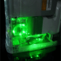 Grön Core Cooler v2 för XBOX 360 (liten bild)