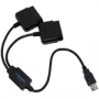 PS2 Handkontrollsport till PS3/PC (liten bild)