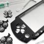 Svart Face Plate för PSP SLIM 2000 (liten bild)