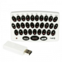 Wireless Keyboard for Wii (liten bild)
