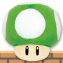 Mjuk 1-UP Svamp från Super Mario Bros. (liten bild)