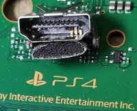 PS4 trasig HDMI port