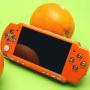 Orange Face Plate för PSP SLIM 2000 (liten bild)