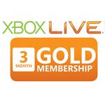 Xbox 360 Live Guldkort i 3 månader (liten bild)