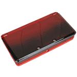 Skal till Nintendo 3DS - komplett - Röd (liten bild)