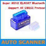 Super Mini ELM327 Blåtands OBDII adapter (liten bild)