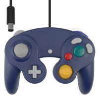 Blå GameCube handkontroll