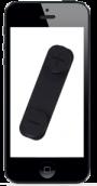 Byte av volymknappar till Iphone 5 SVART (liten bild)