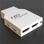 HD FURY III  - HDMI till VGA/komponent adapter