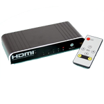 HDMI-switch (4-portar)